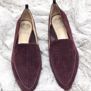 Vince Camuto Perforated Loafer size 9